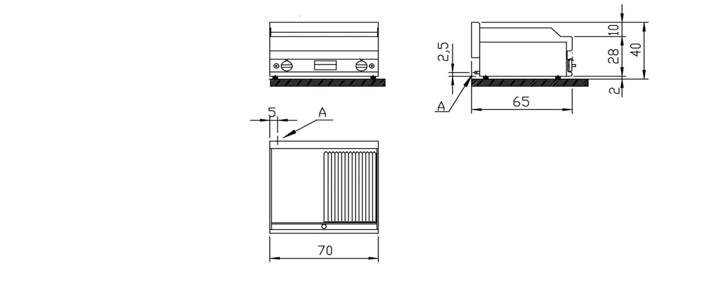 Cad technical datasheet image
