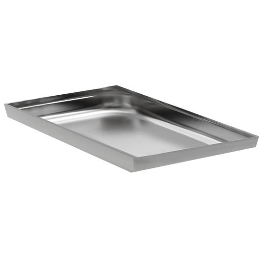 Bandeja de aluminio 433x322 mm.