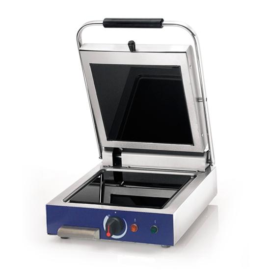 gril à contact avec plaques en vitrocéramique, 250x250 mm