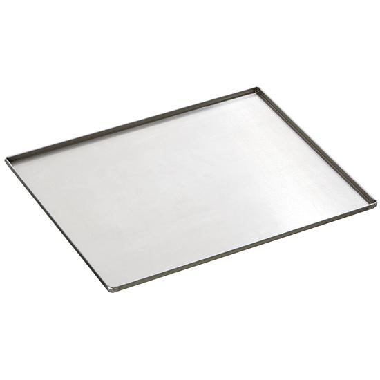 Backblech aus Aluminium unbeschichtet, GN 1/1 - 4 Seiten 90°