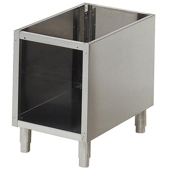 soubassement ouvert pour appareils de table l=400 mm