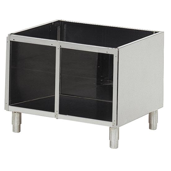 soubassement ouvert pour appareils de table l=800 mm