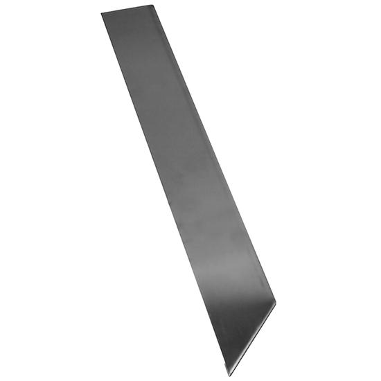 couvre-joint gauche pour plaque grillades p=650 mm