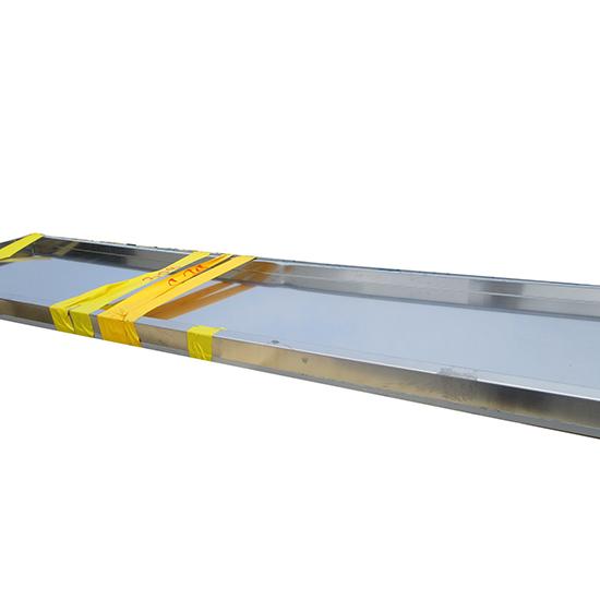 Prateleira de parede duplas 2000x400 mm -DANIFICADO