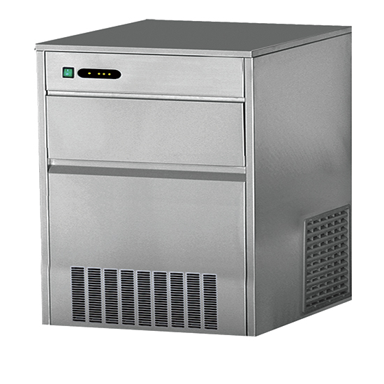 Eiswürfelbereiter, Luftkühlung, 80 kg/24 h