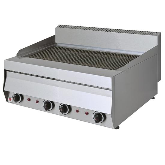 grill wodny, elektryczny, nastawny, 2. strefowy