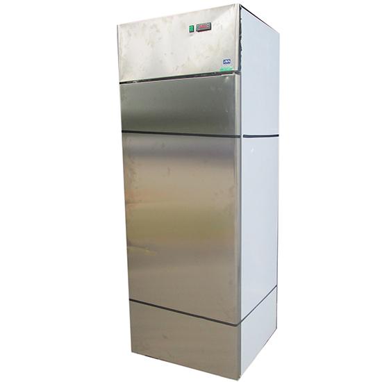Kühlschrank 600 Liter aus Edelstahl, 0°/+10°C - BESCHÄDIGT