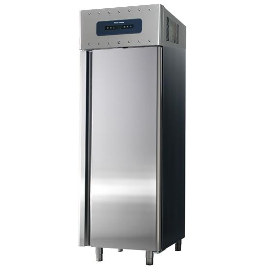 Tiefkühlschrank 700 Liter aus Edelstahl, GN 2/1, -10°/-30°C, 85 mm Isolierung