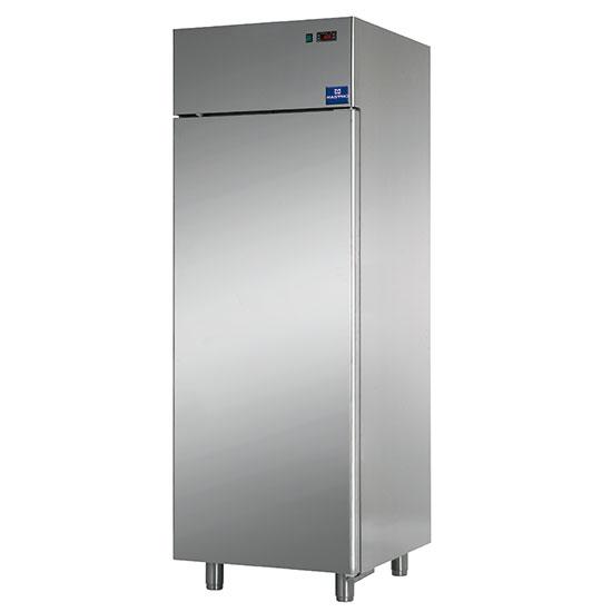 Tiefkühlschrank 600 Liter aus Edelstahl, -18°/-22°C