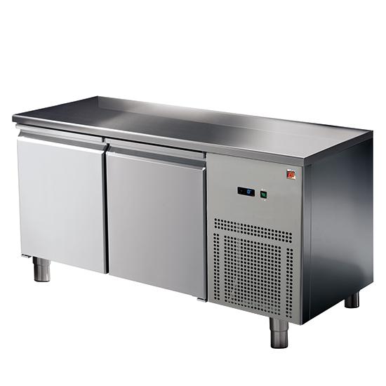 Kühltisch 2 Türen GN 1/1, -2°/+8°C