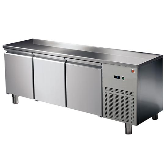 Kühltisch 3 Türen GN 1/1, -2°/+8°C