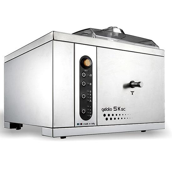 Speiseeismaschine mit Luftkühlung, digital, Tischmodell, Kapazität 1,25 Liter, Produktion 5 kg/h