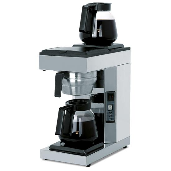 Filterkaffeemaschine mit 2 Glaskannen 1,8 Liter, automatisch