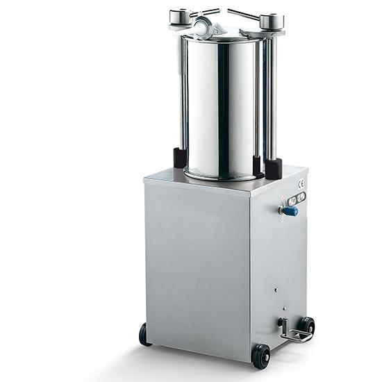 Wurstfüllmaschine, senkrechte Version, Zylinder L=460 mm, 25 Liter