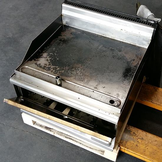 Gas-Grillplatte, Tischmodell, glatt - Marke LOTUS - DEFEKT
