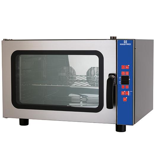 Elektro-Kombidämpfer mit Befeuchter, programmierbar, 4x GN 1/1 oder 600x400 mm
