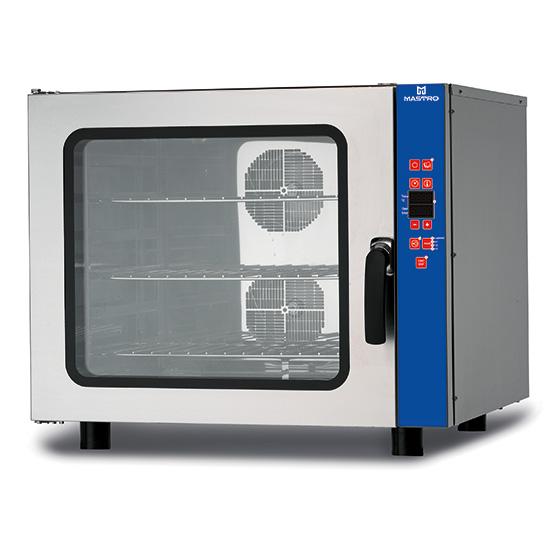 Elektro-Kombidämpfer mit Befeuchter, programmierbar, 6x GN 1/1 oder 600x400 mm