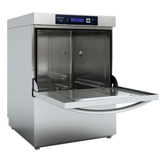 Geschirrspüler mit Spülmitteldosierer und Ablaufpumpe, digital,  Korbmaß 50x50 cm, max H=38 cm
