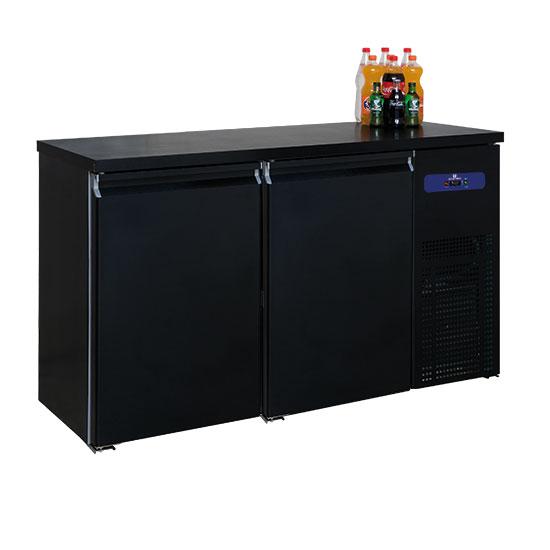 Bottle cooler 2 doors, 320 liters, -2°/+8°C