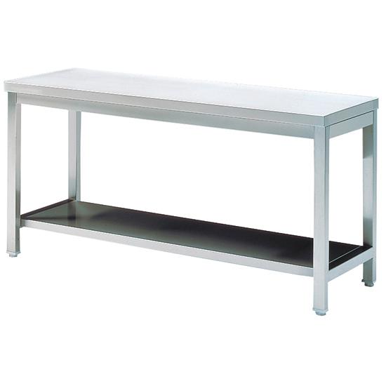 Arbeitstisch mit Zwischenboden, 1400x600 mm