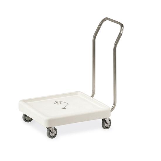 wózek transportowy na kosze do zmywarek, 515x515 mm
