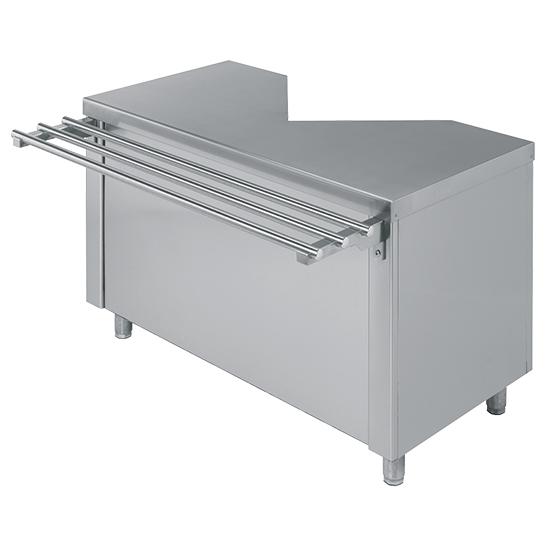 Elemento de caixa com gaveta para direito ou esquerda, c=1400 mm