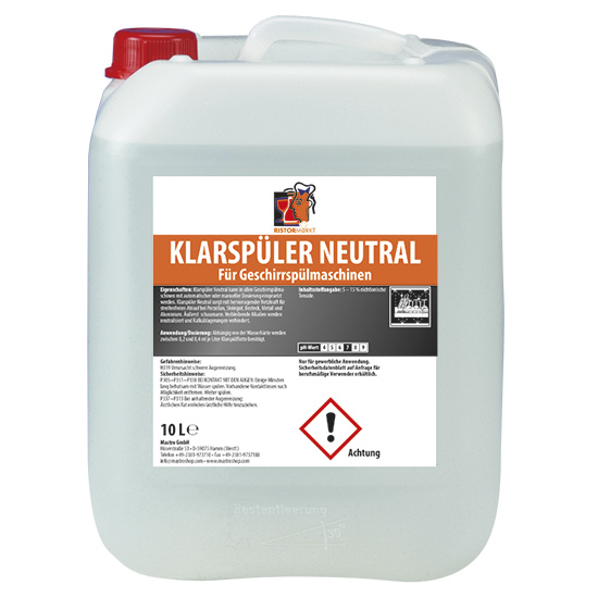 rinse aid, 10 litres