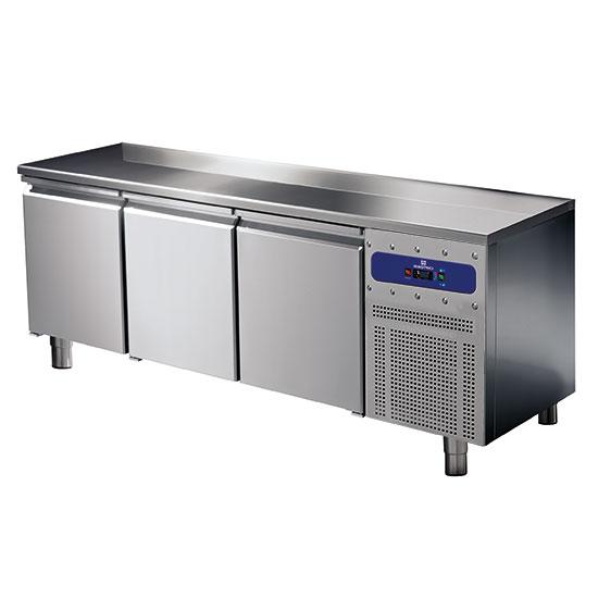Kühltisch 600 mm 3 türig, -2°/+8°C