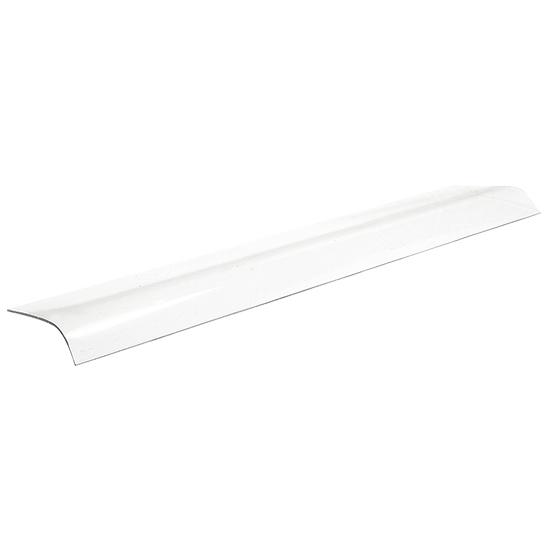 Prateleira curva em vidro, c=1056 mm