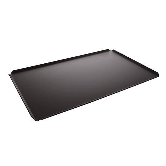 Backblech aus Aluminium, GN 1/1 - 4 Seiten 45°, Tynec Beschichtung