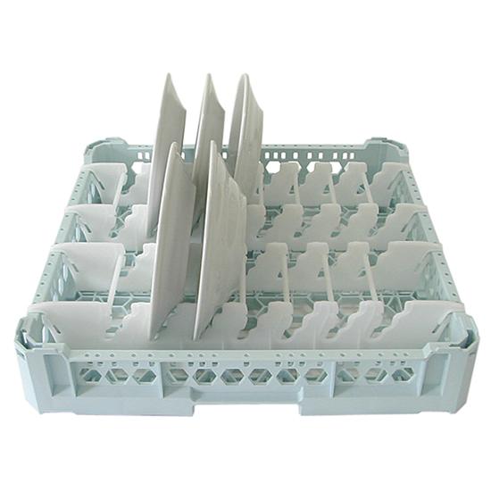 Tellerkorb, Kapazität 15 Teller, 500x500 mm