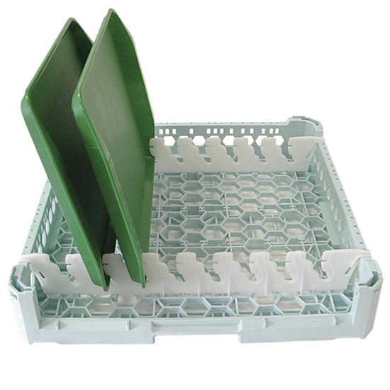 Tablettkorb, Kapazität 8 Tabletts, 500x500 mm