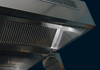 Stainless steel units and ventilation